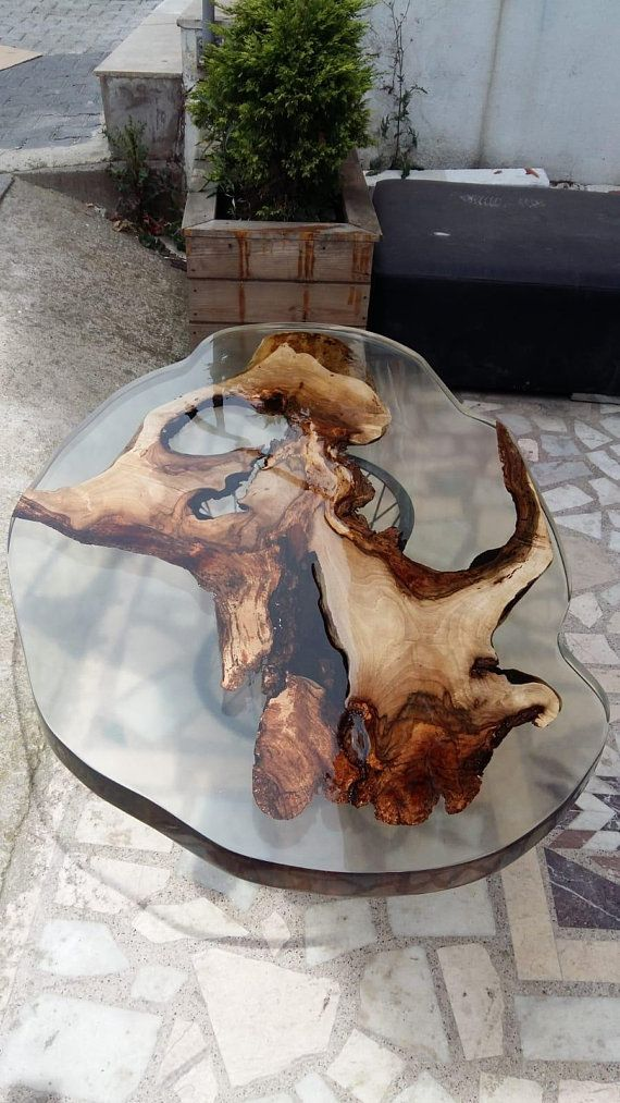 Epoxy Coffee Root Table In 2019 Epoxy Ideas Resin