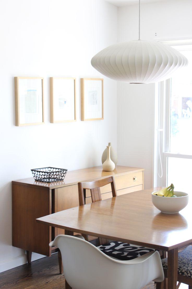 via mindful closet | George Nelson Saucer Lamp | http://modernica.net/lighting/