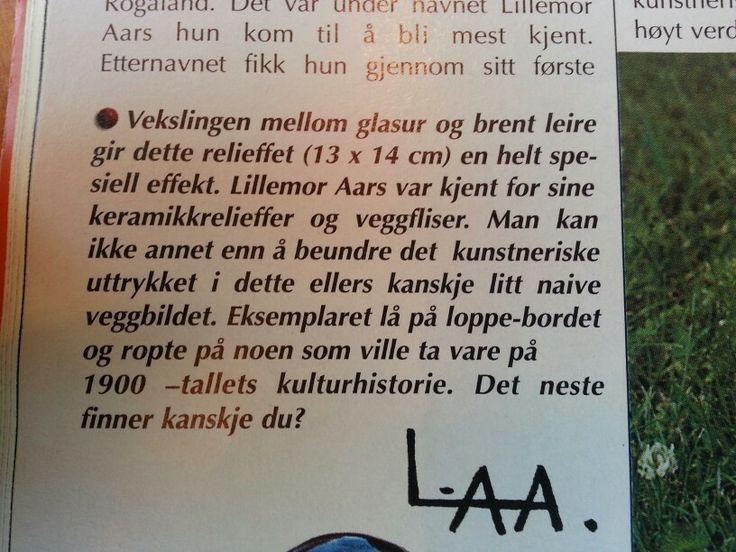 Lillemor Aars - Norge