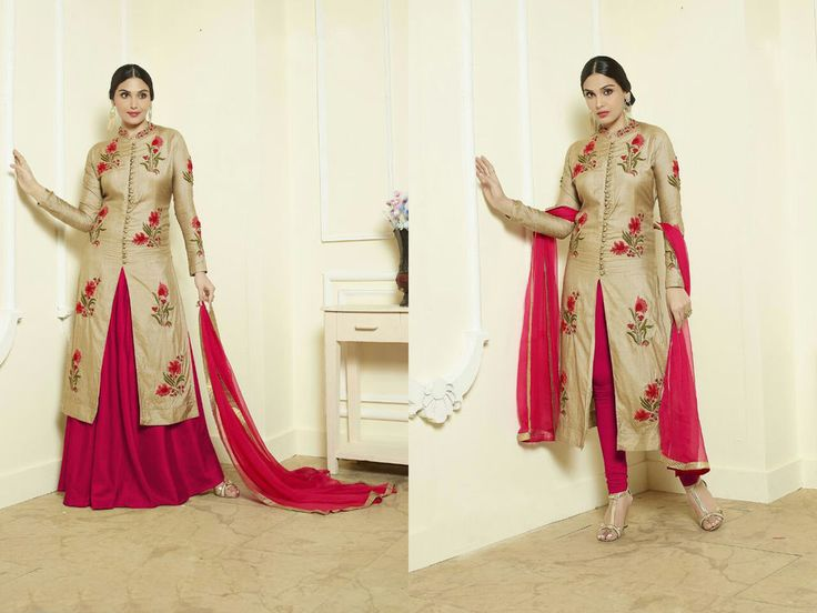 Indian Bollywood Ethnic Designer Anarkali Salwar Kameez Suit & Traditional YRC2