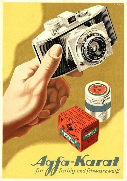 Agfa Poster by Walter Riemer, 1950