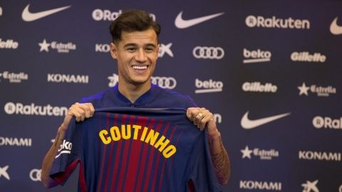 Philippe Coutinho has still not decided on his Barcelona shirt number