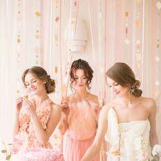 Ballet Inspired Hen Party and Wedding Ideas |  russian ballerinas | балерины | балет | свадьба | идеи для девишника http://svetamart.ru/wedding/gallery/wedding-look/