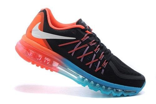 2015 new 698902-006 Air Max black red women running sport shoes