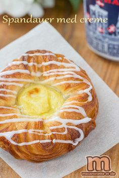 Spandauer med creme... ou une viennoiserie typiquement danoise (Wienerbrød) - Macaronette et cie