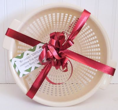 Lastweek a friend and I put together 15 small door prizes for our Church Christmas Party.Many of the ideas came from this link-- 103 Ne...