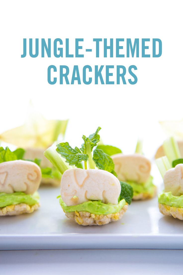 Get your kiddos to eat their veggies with this fun and simple jungle snack hack. This food art recipe takes just a few steps and is a great way to make snack time both healthy and a wild fun time!