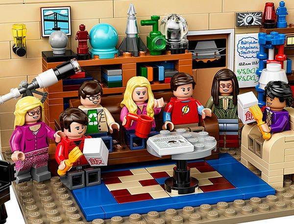 The Big Bang Theory LEGO Kit is Made for Nerdy Fans #toys trendhunter.com
