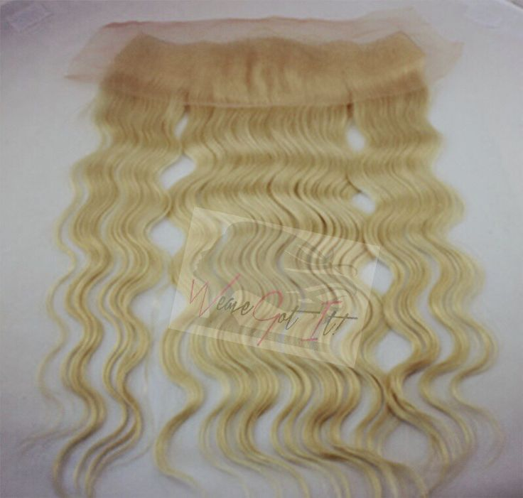 Body Wave Russian Blonde Hair 3 Bundle Plus Frontal Package