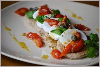 ŐRÜLTEN  JÓ ÉTELEK : Variációk egy témára: mozzarella, paradicsommal 3....