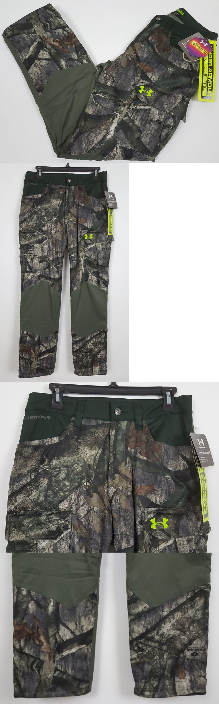 Pants and Bibs 177873: Under Armour Coldgear Barrier Hunting Pants Mossy Oak Camo $150 1262327 (Small) -> BUY IT NOW ONLY: $64.89 on eBay!