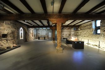 exhibition of the Old Synagogue, ground floor