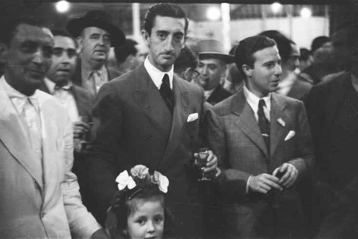 Los diestros Manolete y Pepe Luis Vázquez.