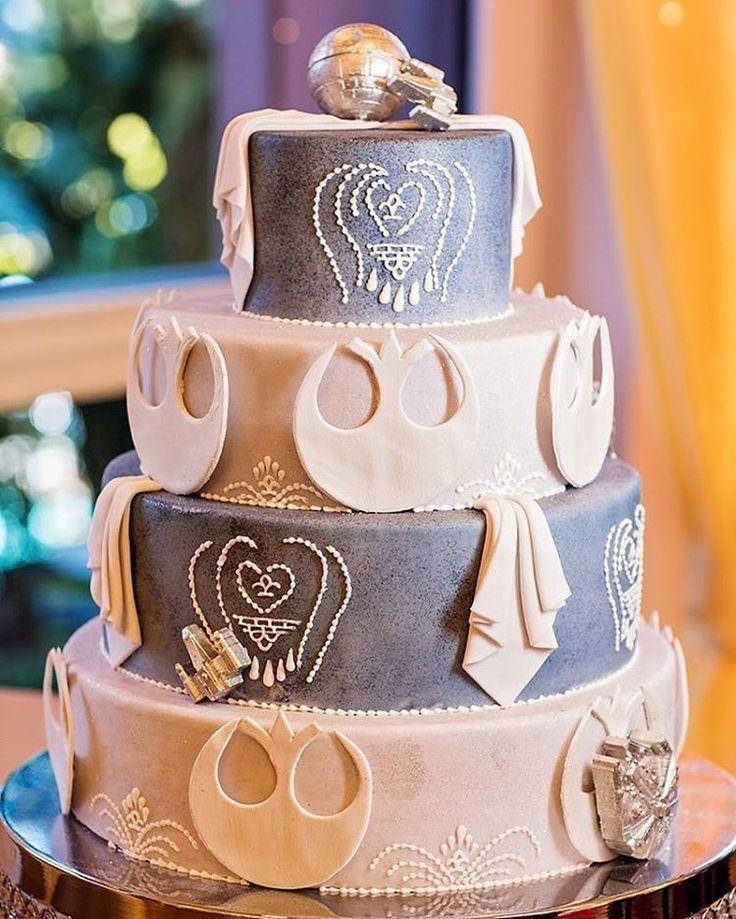 Star War Unique Wedding Cake: Best 25+ Star Wars Wedding Cake Ideas On Pinterest