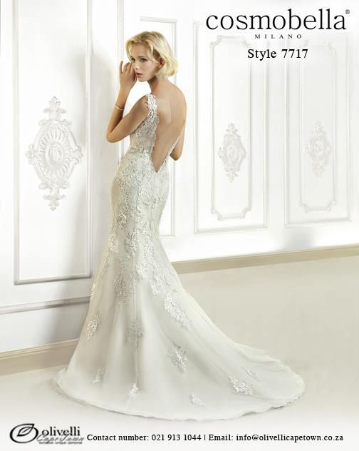 Cosmobella Gown style 7717. Call us on 021 913 1044 for more info. #WeddingGown #OlivelliCT #Cosmobella