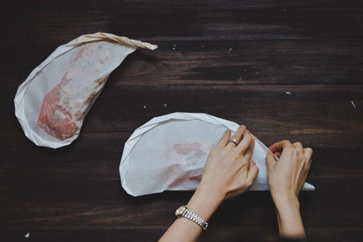 Recipe: Asian Salmon en Papillote for Two | Verily