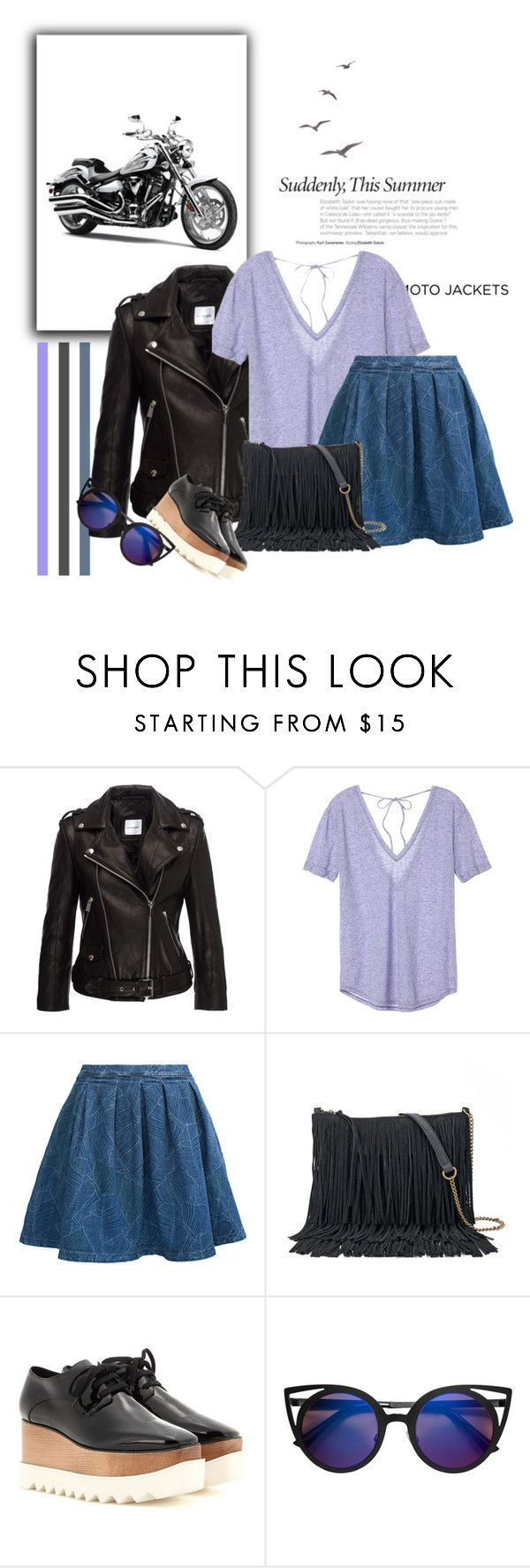 """""""MOTOR"""" by larisa-ivanov ❤ liked on Polyvore featuring Anine Bing, Victoria's Secret, MPJ, SONOMA Goods for Life and STELLA McCARTNEY"""