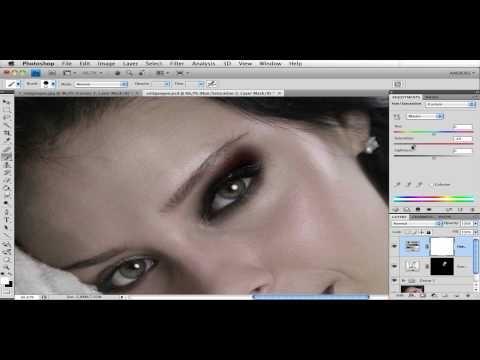 Sminka sotade ögon med Photoshop CS4