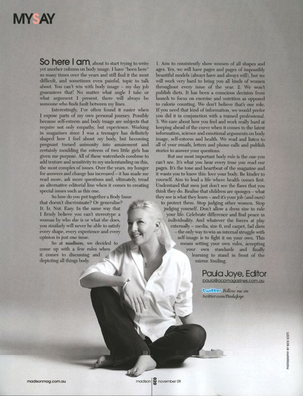 letter from the editor magazine - Google Search