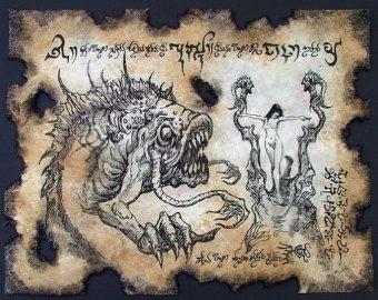 cthulhu larp NYARLATHOTEP RITUALS Necronomicon demon occult