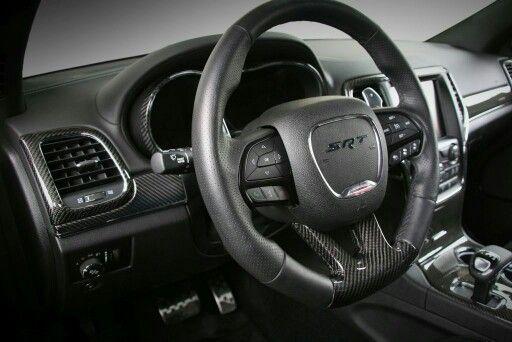 Carbon Fiber trim set for Jeep SRT8