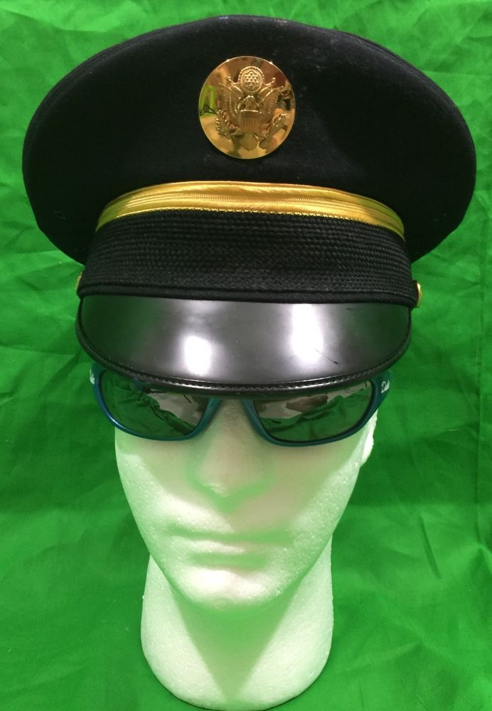 Men's Dress Uniform (Blues) visor Hat/Cap in size 6-7/8. Hat is in Very Good Condition, manufactured by Bancroft Military Caps. | eBay!