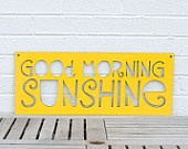Good Morning Sunshine. $52.00, via Etsy.