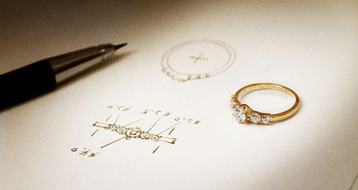 憧れのオーダーメイドジュエリー♡結婚指輪サイズの参考
