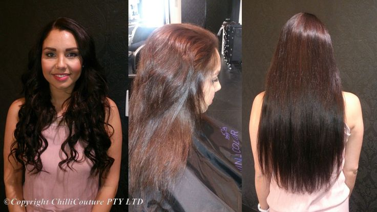 All hair extensions used at Chilli Couture is sourced from reputable companies. This assures you only receive beautiful silky smooth quality hair. The hair is sourced & selected by a grading system where only the finest 100% Natural Remy Human Hair is used. This process ensures the integrity of the hair and cuticle direction, and produces exquisite coloured strands ready to imbue the wearer with true beauty and style.