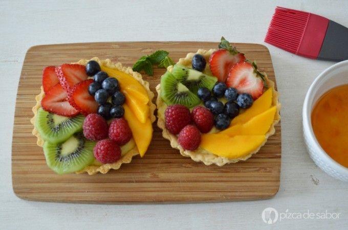 Tartaletas de frutas www.pizcadesabor.com