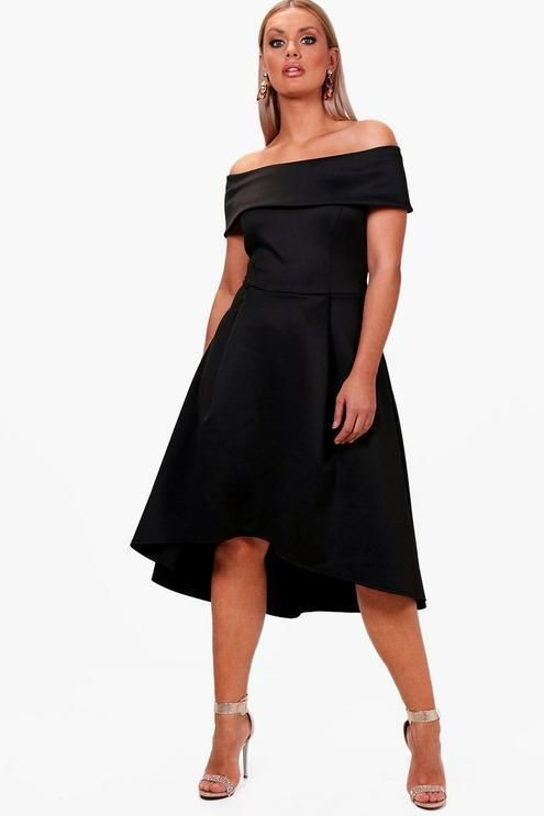 e4354b76113a Boohoo Plus Double Layer Midi Dress Dress Black Size UK 16 DH089 MM 15  #fashion #clothing #shoes #accessories #womensclothing #dresses (ebay link)