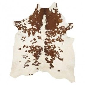 Cow Hide Caramel Area Rug