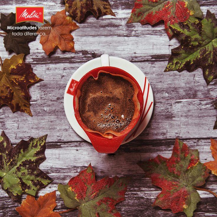Com a chegada do outono, as temperaturas começam a cair… E a vontade de curtir o máximo prazer de um Café Melitta #passadonahora só aumenta. ☕️🍂