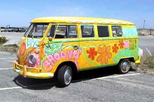 cool #hippie bus