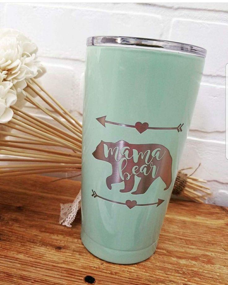 Mama Bear 20oz Engraved SIC Cup