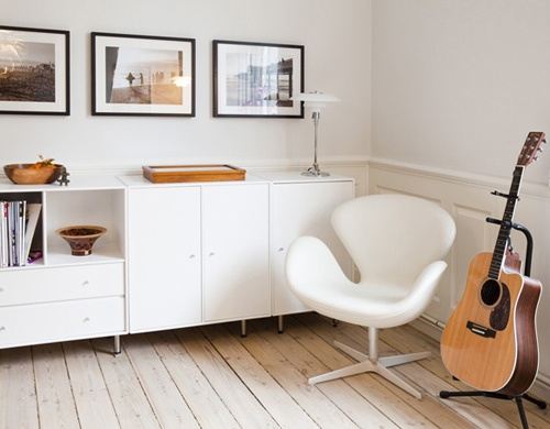 arne jacobsen swan chair - an icon!