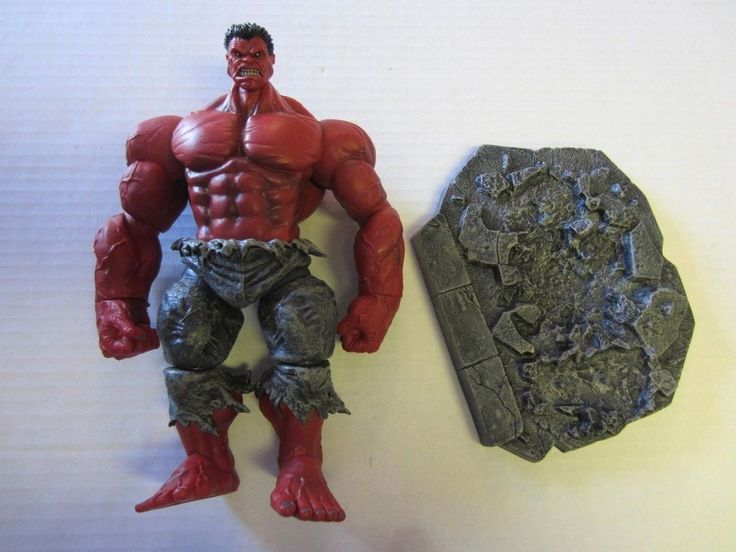 """Red Hulk Action Figure 9 1/2"""" Marvel Select #Unknown"""