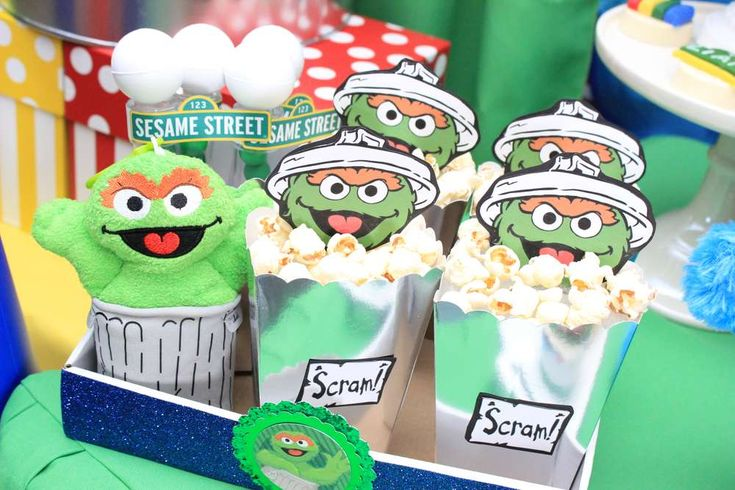 Sesame street Birthday Party Ideas | Photo 9 of 22