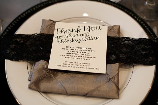Ideas In Lieu Of Wedding Gifts : ... Ideas, Wedding Plans Ideas, Donation As Wedding Favors, Places Cards