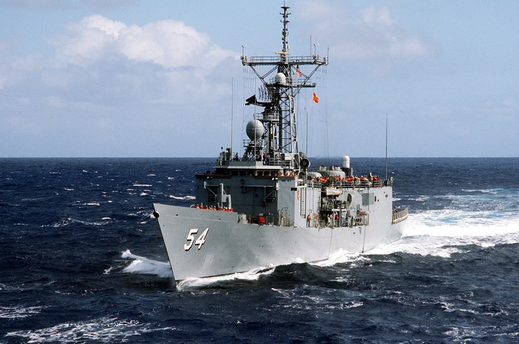 USS Ford FFG-54 - Oliver Hazard Perry class Frigate (USA)