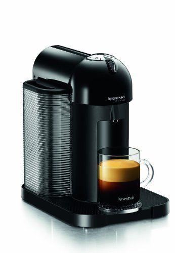 Nespresso GCA1-US-BK-NE VertuoLine Coffee and Espresso Maker, Black - http://teacoffeestore.com/nespresso-gca1-us-bk-ne-vertuoline-coffee-and-espresso-maker-black/