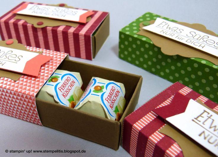 Ferrero-Küsschen-Box (für 3 Stück) mit PDF-Tutorial (auf die Abb. klicken, dann PDF aus der Dropbox herunterladbar!)