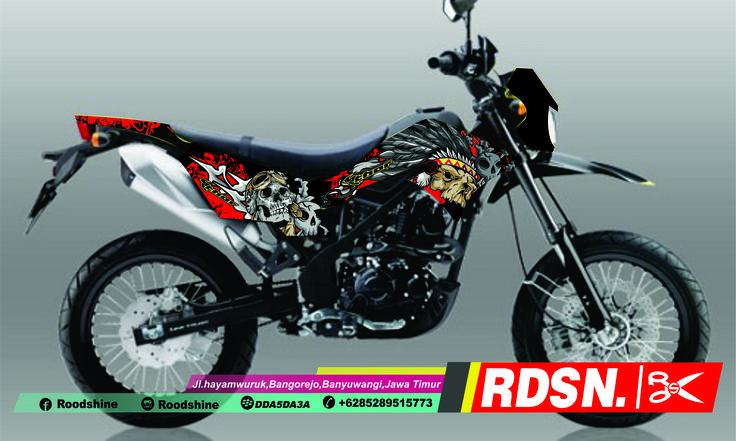 #klxbf #klx #design #dtracker #kawasaki #stickers #3dcuttingsticker #skull #pirates #oracal651 #roodshine #rdsn #kpps #cbk #motocross #yvci #krackers #krackerbanyuwangi #supermoto #supermotoindonesia