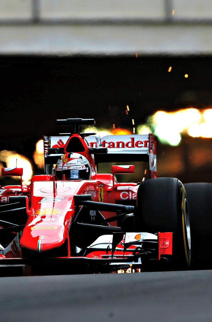 #F1 Pilot Sebastian Vettel ahead of the 2015 Monaco Grand Prix