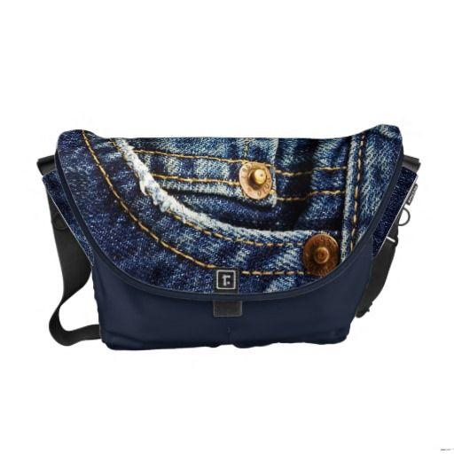 Jeans Pocket Messenger Bag