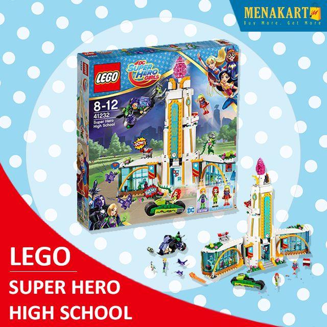 Shop for LEGO Super Hero High School Online #LEGO #Online #Toys #Menakart #Games #Kids #Shopping