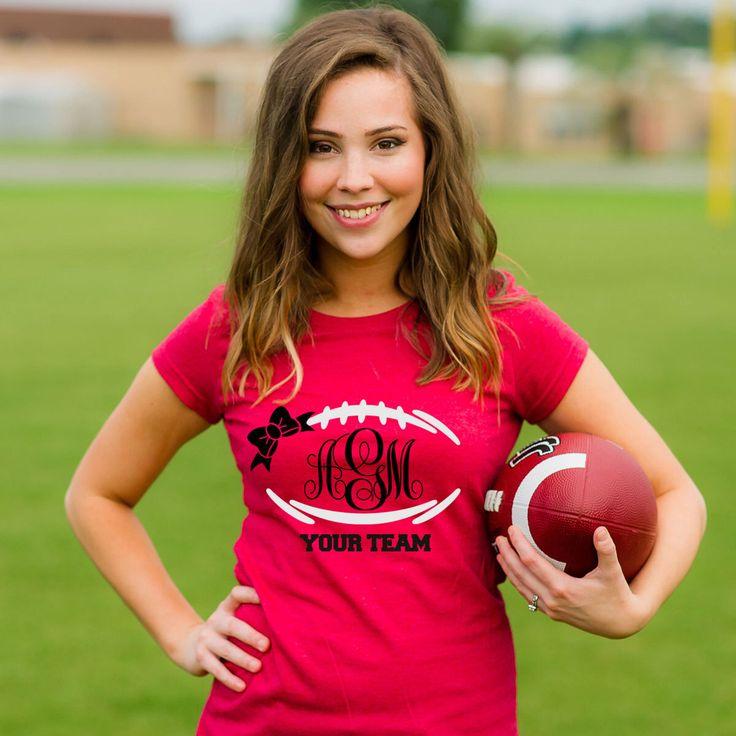 FREE SHIP Monogram football shirt,girls football monograms, georgia bulldogs, monogram shirts for women, football shirts, UGA shirts by LineLiamBoutique on Etsy https://www.etsy.com/listing/225639866/free-ship-monogram-football-shirtgirls