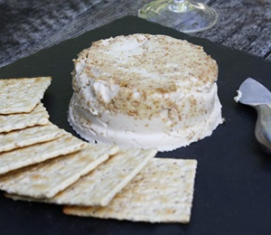 what the what?! vegan brie.