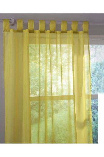 Drapes yellow