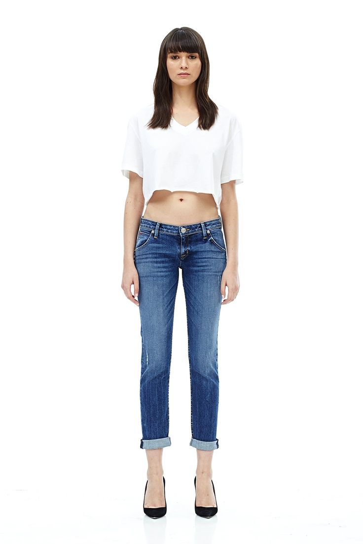 Love these Hudson boyfriend jeans! Click the picture to save 20% today! The Jax is their signature flap pocket styling on a modern, slim fitting jean that sits relaxed on the hips, slim through the legs and relaxes at the ankle. With a classic denim fit these Jax jeans are finished with a medium blue vintage Lifeline wash.